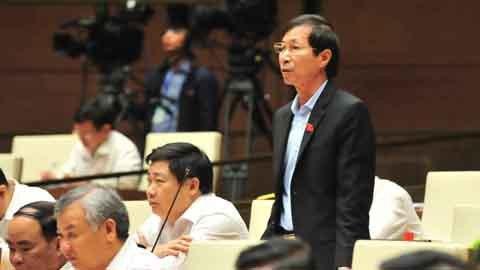 Quốc hội thảo luận tại hội trường về Dự luật Phòng chống tham nhũng sửa đổi ngày 21/11/2017. Ảnh: Minh Đạt
