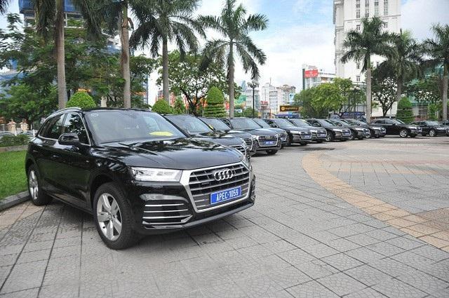 Lô xe phục vụ APEC sẽ thanh lý, người dân mong chờ được đấu giá để mua xe