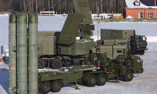 Hệ thống phòng không S-400 của Nga Ảnh: BỘ QUỐC PHÒNG NGA