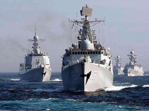 Hải quân Trung Quốc thể hiện tham vọng ngày càng lớn