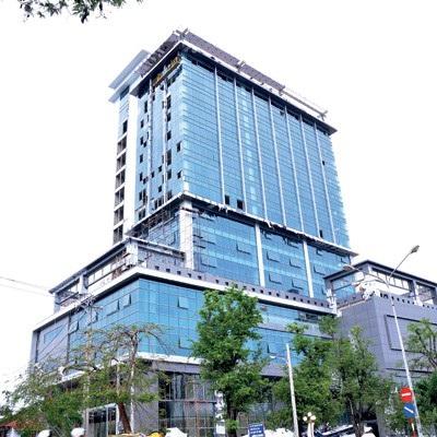 Tòa nhà Bạc Liêu Tower của PVC - Mekong vẫn chưa hoàn thiện hết