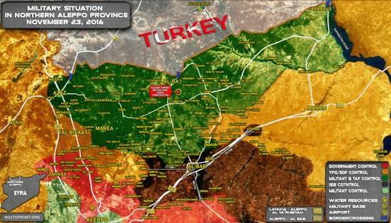 Vùng đệm an ninh mà Ankara mong muốn?
