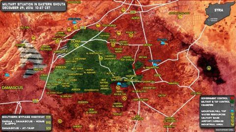 Thỏa thuận ngừng bắn Syria: Cách Nga lựa chọn chiến trường mới - 2