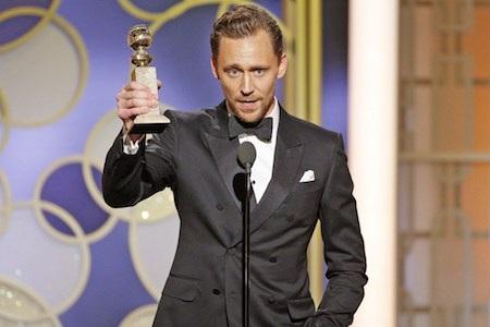 Tom Hiddleston bị chỉ trích sau lễ trao giải Quả cầu vàng
