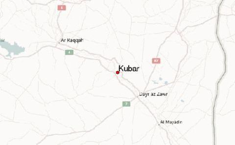 Làng Kubar ở Deir Ezzor - địa điểm xảy ra vụ tấn công của đặc nhiệm Mỹ