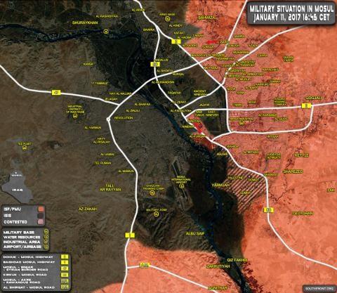 Mặt trận Mosul sắp giành chiến thắng.