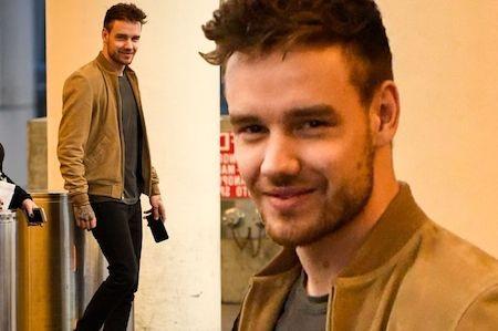 Liam Payne vui vẻ khi trở lại Mỹ