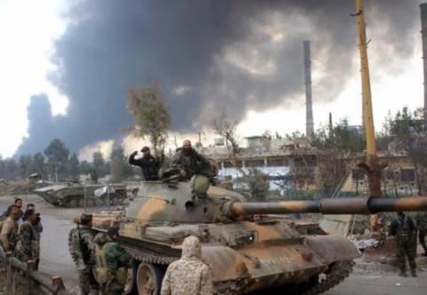 Quân đội Syria tại Damascus