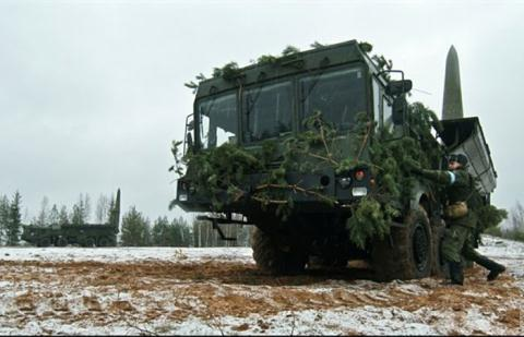 Hệ thống Iskander-M của Nga.