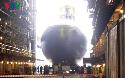  Chiếc tàu ngầm HQ-187 Bà Rịa-Vũng Tàu khi còn ở Nga