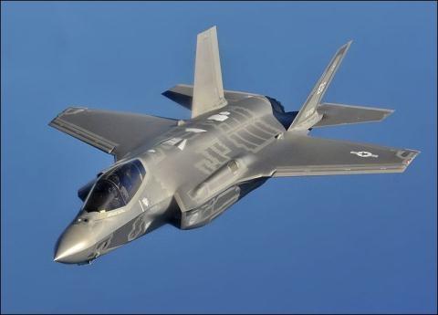 Máy bay chiến đấu thế hệ thứ 5 F-35 của Mỹ. (Ảnh: en.wikipedia.org)