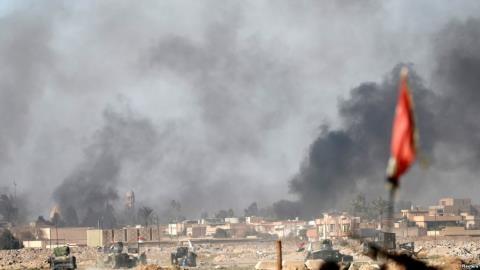 Giao tranh tại ngoại ô thành phố Mosul ngày 25/2/2017