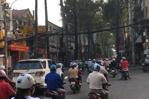 Đường Trần Quang Khải nơi có những con hẻm sâu giúp Lệ Hải và Bình Toyota thực hiện cướp xe.