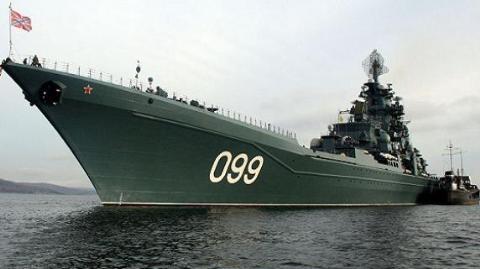 Tuần dương hạm hạt nhân lớp Kirov của Nga là một kho tên lửa di động trên biển