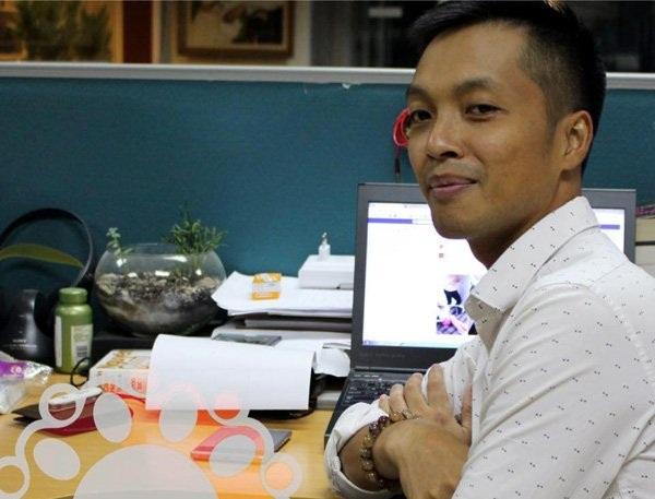 Anh Nguyễn Anh Tuấn, MC của chương trình Trên mọi nẻo đường, kênh VOV Giao thông.