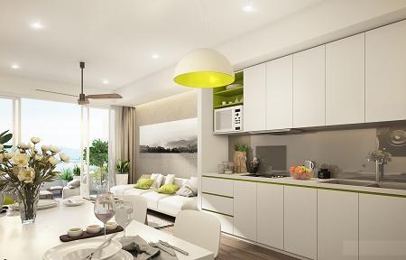 Các căn hộ Condotel với thiết kế tươi mới, tầm nhìn khoáng đạt luôn thu hút các nhà đầu tư và khách hàng