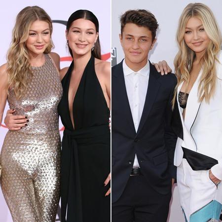 """Gia đình toàn """"trai xinh, gái đẹp"""" của Gigi Hadid thực sự đã """"đốn gục"""" các fan hâm mộ ngay từ lần đầu tiên trông thấy, ngoài Gigi, cô em gái Bella và cậu em trai Anwar cũng đều sở hữu ngoại hình cực kỳ long lanh"""