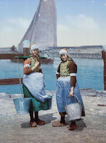 Bộ ảnh về đất nước Hà Lan những năm 1890s qua các tấm bưu thiếp - 1