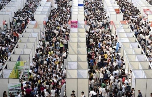 Những bức ảnh khiến bạn sửng sốt về tình trạng dân số ở Trung Quốc - 1