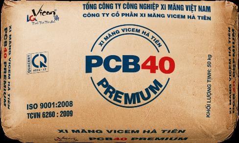 Tuy mới ra mắt nhưng Vicem Hà Tiên PCB40 PREMIUM với những tính năng vượt trội đang dần chinh phục thị trường xi măng trong nước