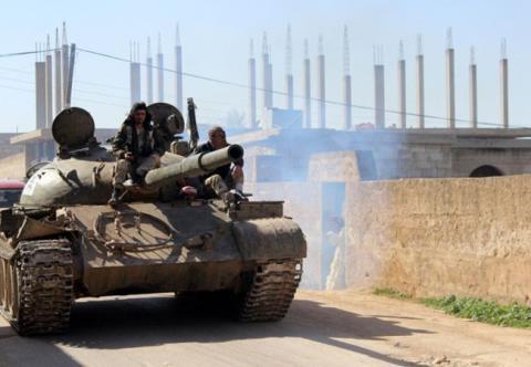 Lực lượng Hồi giáo cực đoan tại Hama