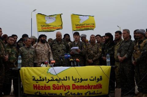 Người Kurd bàn giao một số làng tại tây Manbij cho quân đội Syria