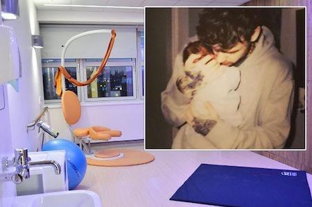 Nữ ca sĩ Cheryl đã sinh con ở một bệnh viện hàng đầu nước Anh