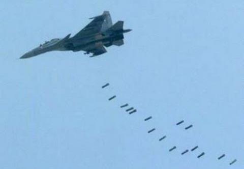 Không quân Nga không kích tại Syria