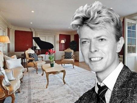 Nhà cũ của David Bowie vừa được rao bán