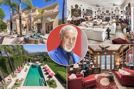 """Sir Tom Jones bất ngờ rao bán """"tổ ấm"""" ở Beverly Hills"""