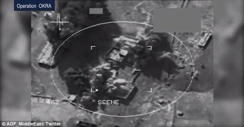 Nhà máy chế tạo bom của IS bị xóa sổ