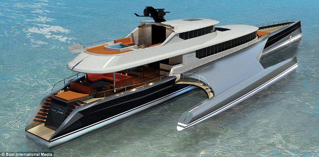 Những thiết kế siêu du thuyền mới nhất dành cho tỉ phú - 1