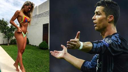 """Ronaldo được cho là đang """"để ý"""" tới Maria Sol Perez"""