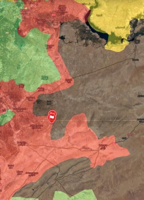 Bản đồ chiến sự tại Homs ngày 7/5