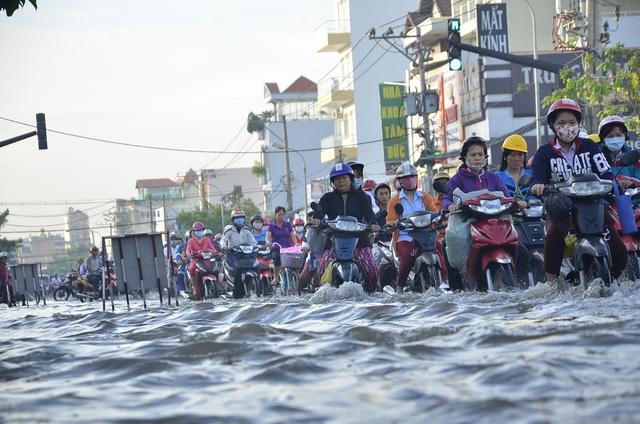 Dự báo tình hình ngập nước tại TPHCM sẽ ngày càng nghiêm trọng do biến đổi khí hậu toàn cầu