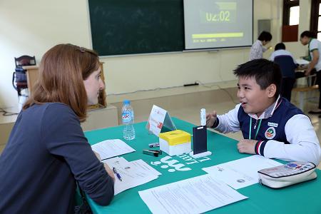 Làm quen và thi các bài thi theo chuẩn khảo thí quốc tế là 1 phần quan trọng trong hành trang ra thế giới của các bạn nhỏ
