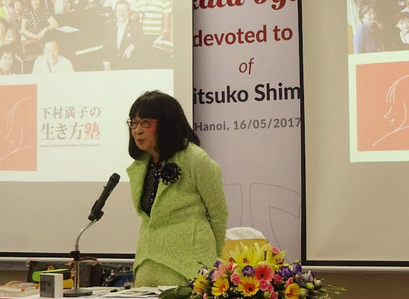 Nhà báo, nhà giáo dục Shimomura Mitsuko – người tiên phong tìm lại giá trị tốt đẹp trong tâm hồn người Nhật.