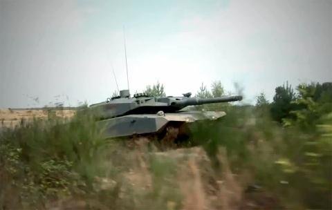 Đức thử nghiệm tăng MBT Revolution.