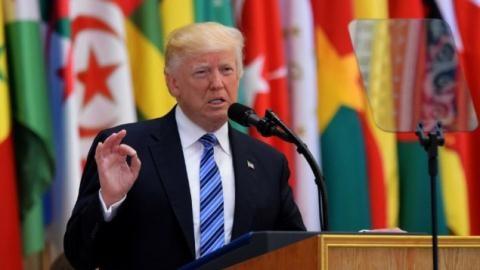 Tổng thống Trump phát biểu tại Hội nghị thượng đỉnh Mỹ-Hồi giáo