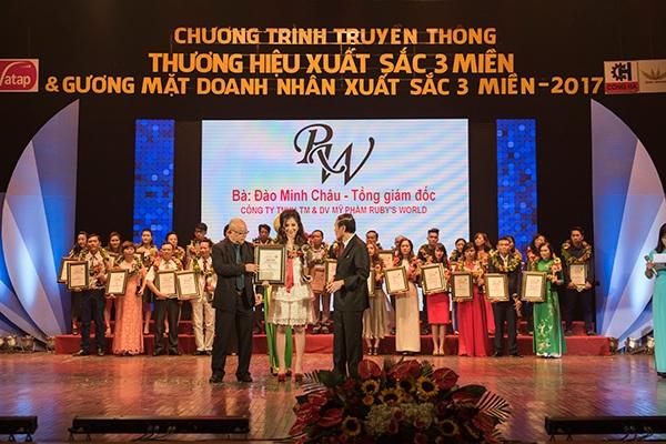Tổng giám đốc Đào Minh Châu trở thành Doanh nhân xuất sắc 3 miền