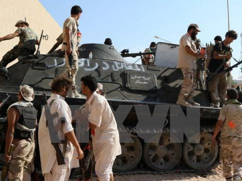 Lực lượng chính phủ đoàn kết GNA - thân phương Tây - đang mất ưu thế trong cả cuộc chiến chống khủng bố lẫn trong cuộc đối đầu với LNA