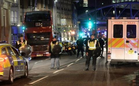 Hiện trường vụ tấn công ngày 3/6/2017 tại London
