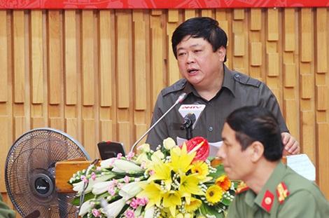 Tổng giám đốc Đài Tiếng nói Việt Nam Nguyễn Thế Kỷ phát biểu tại buổi tọa đàm.