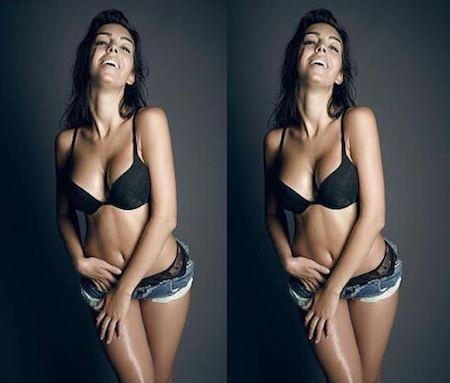 Georgina Rodriguez lại vừa khoe sắc vóc ấn tượng