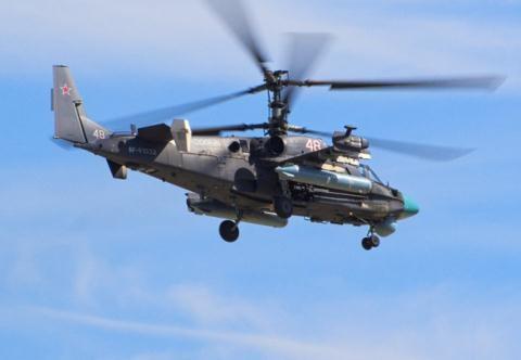 Trực thăng tấn công đa nhiệm Ka-52 Nga