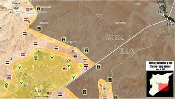 Nga-Syria đã chặn đường FSA của liên quân Mỹ đến Deir Ezzor