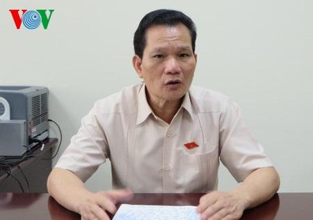 Ông Bùi Sỹ Lợi, Phó Chủ nhiệm Uỷ ban Các vấn đề xã hội của Quốc hội