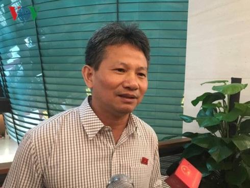 Đại biểu Đỗ Văn Sinh, nguyên Phó Tổng giám đốc Bảo hiểm xã hội Việt Nam, đại biểu Quốc hội tỉnh Quảng Trị.
