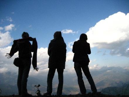 Săn mây, săn lúa, mùa nào cũng là mùa của dân đi bụi khám phá. Ảnh: Lam Linh.