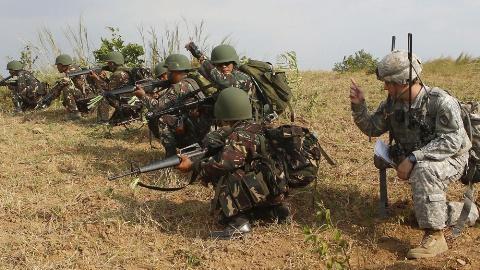 Binh sĩ Mỹ và Philippines tập trận chung
